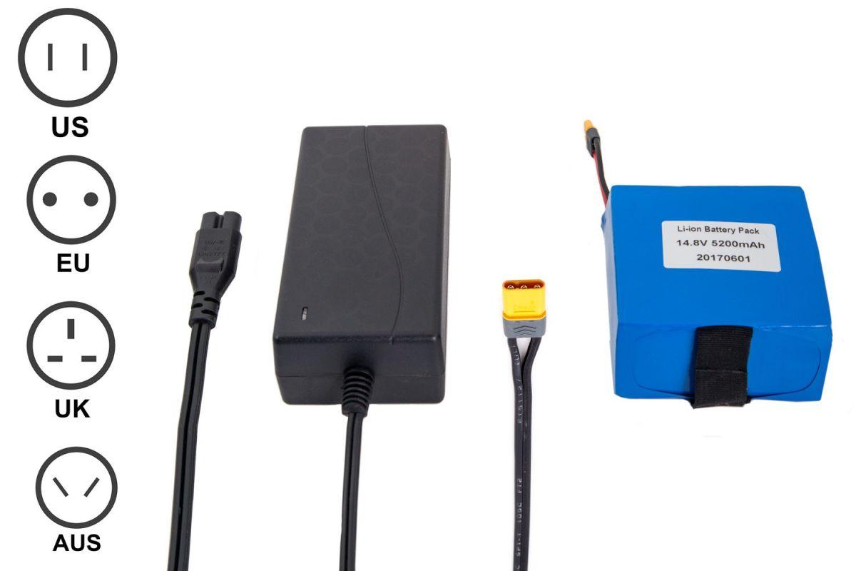 Cam-Box Li-Ion Battery Kit