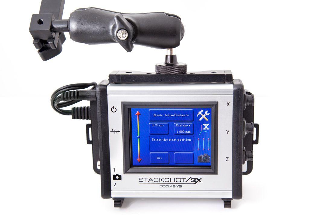 Battery Powering StackShot 3X