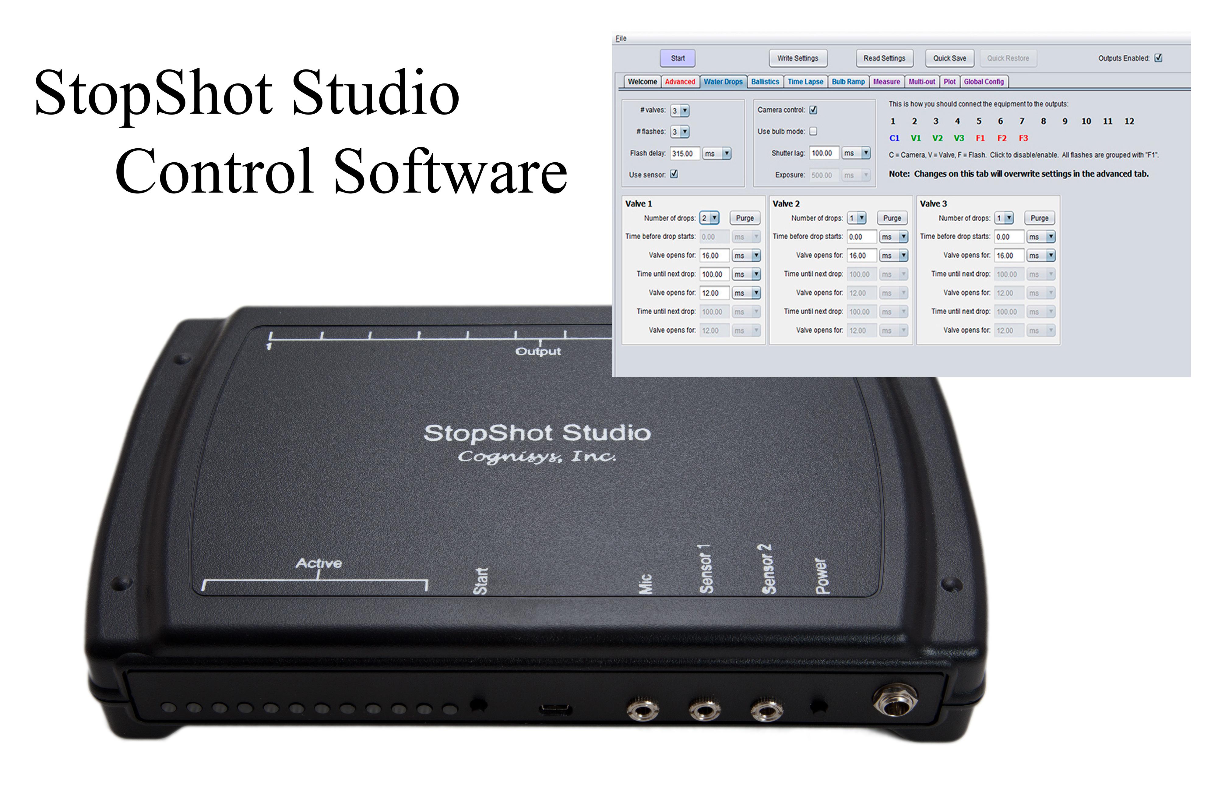 StopShot Studio Software