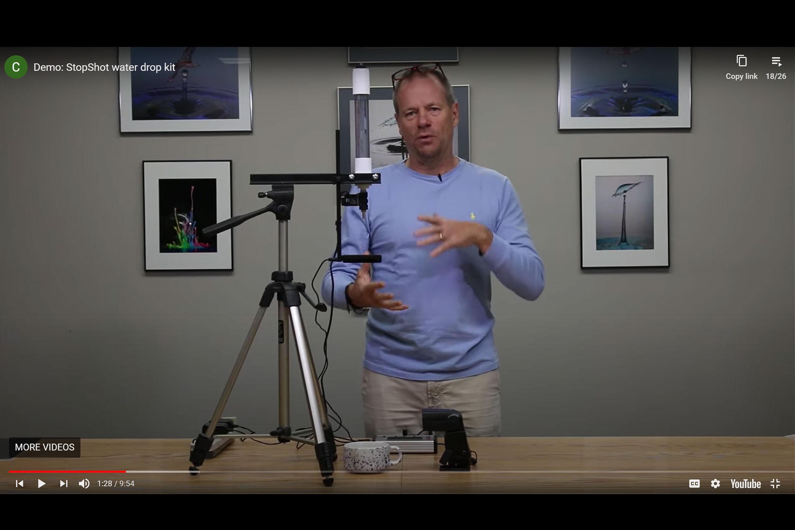 StopShot Water Drop Kit Videos