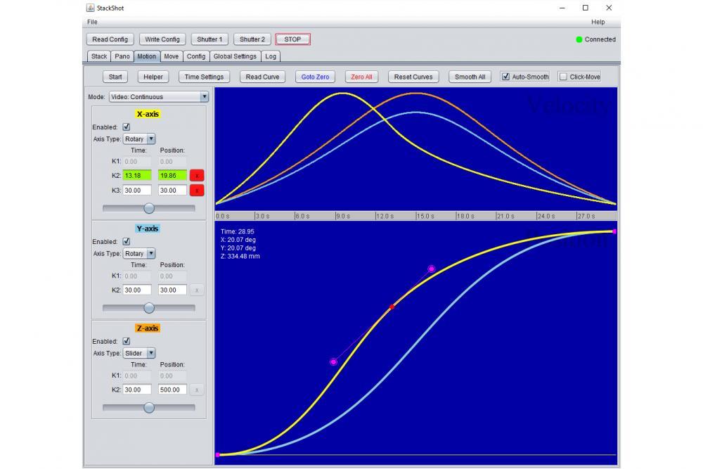 StackShot 3X Computer Control App