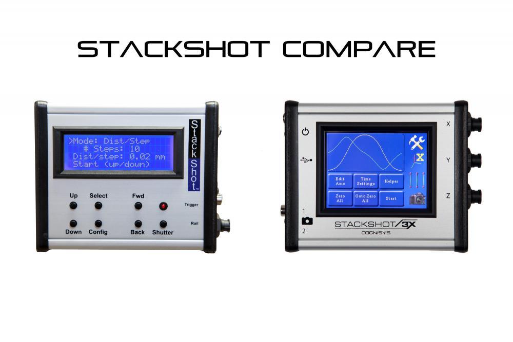 StackShot Controller Comparison
