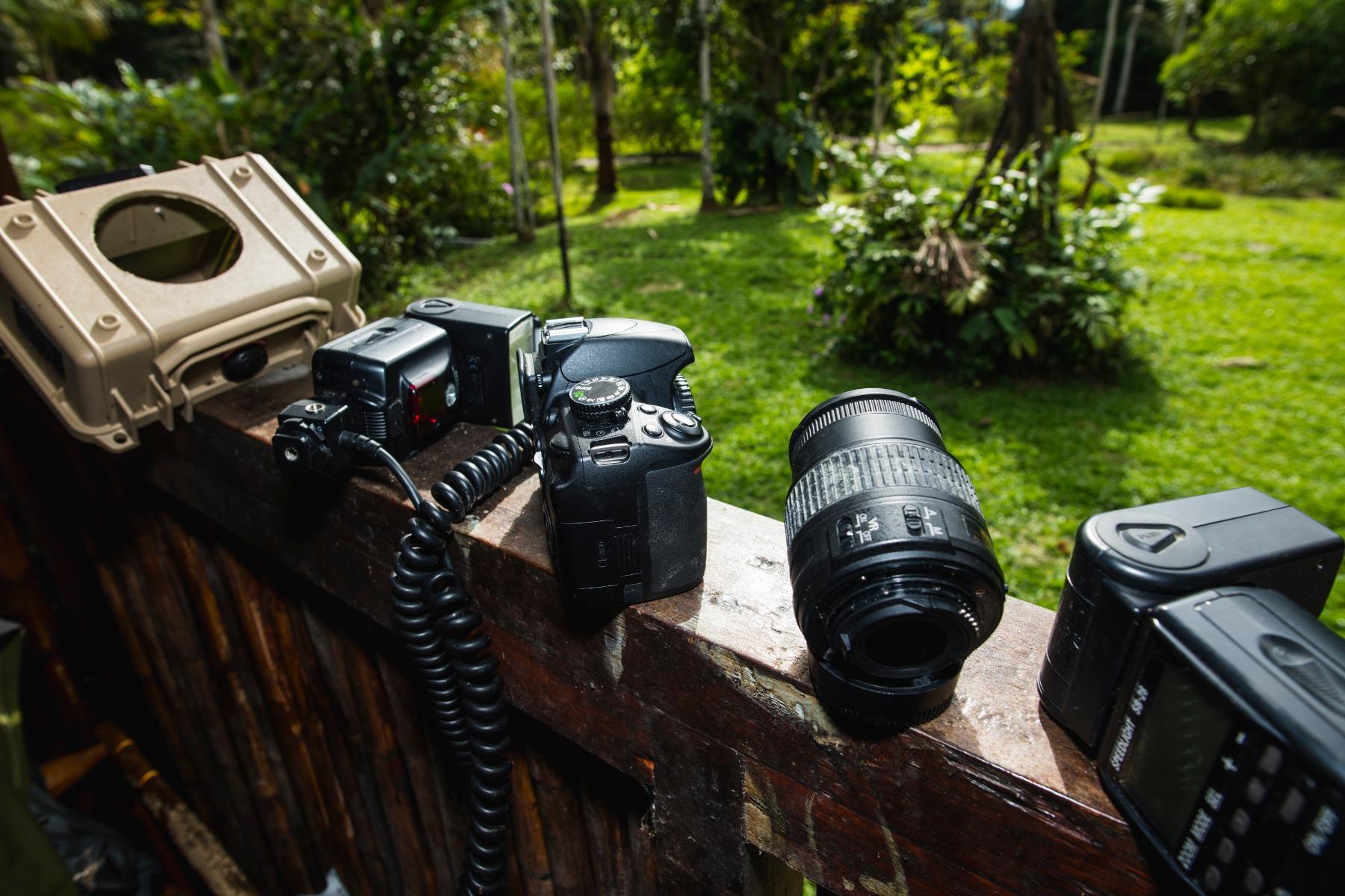 Tom Masons Camera Trapping Gear