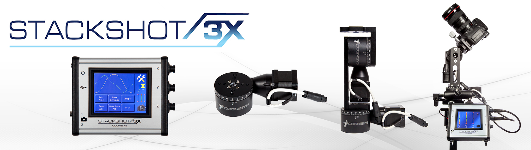 3-Axis Motion Control - StackShot 3X